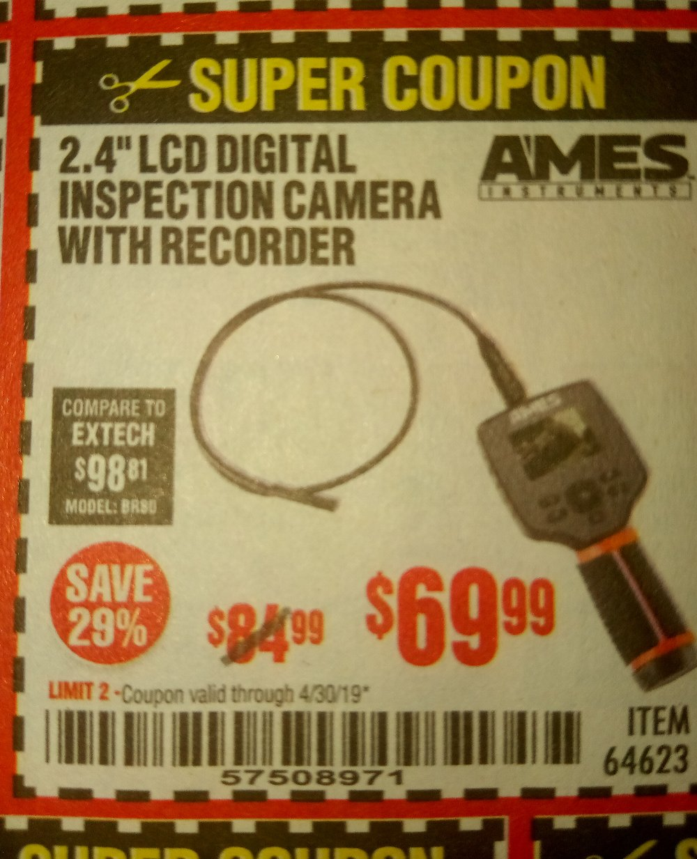 Harbor Freight Coupon, HF Coupons - Ames 2.4