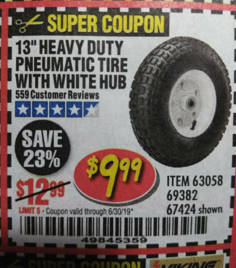 Harbor Freight Coupon, HF Coupons - 63058