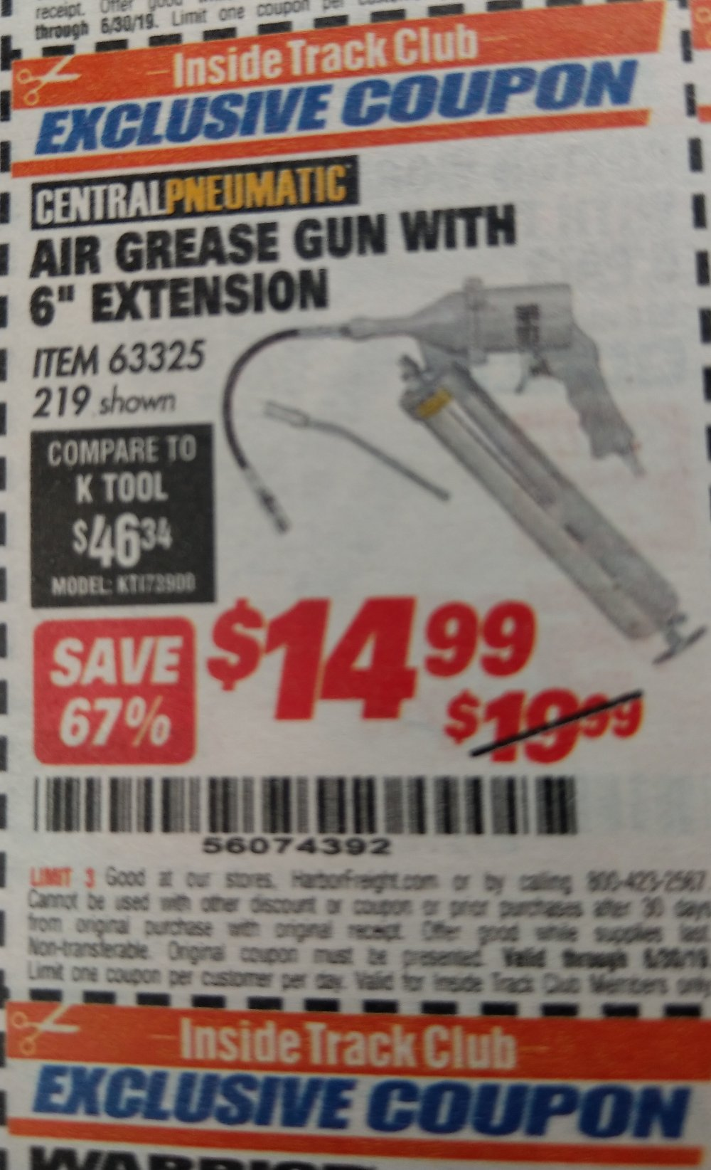 Harbor Freight Coupon, HF Coupons - 63325