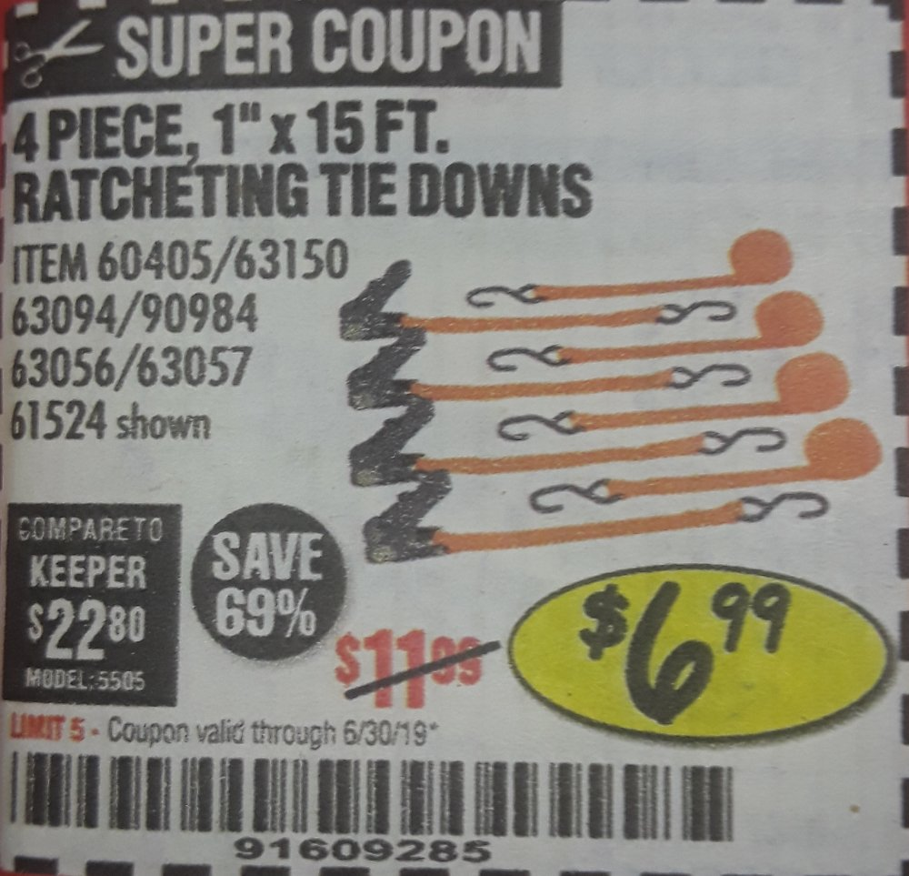Harbor Freight Coupon, HF Coupons - 4 Piece 1