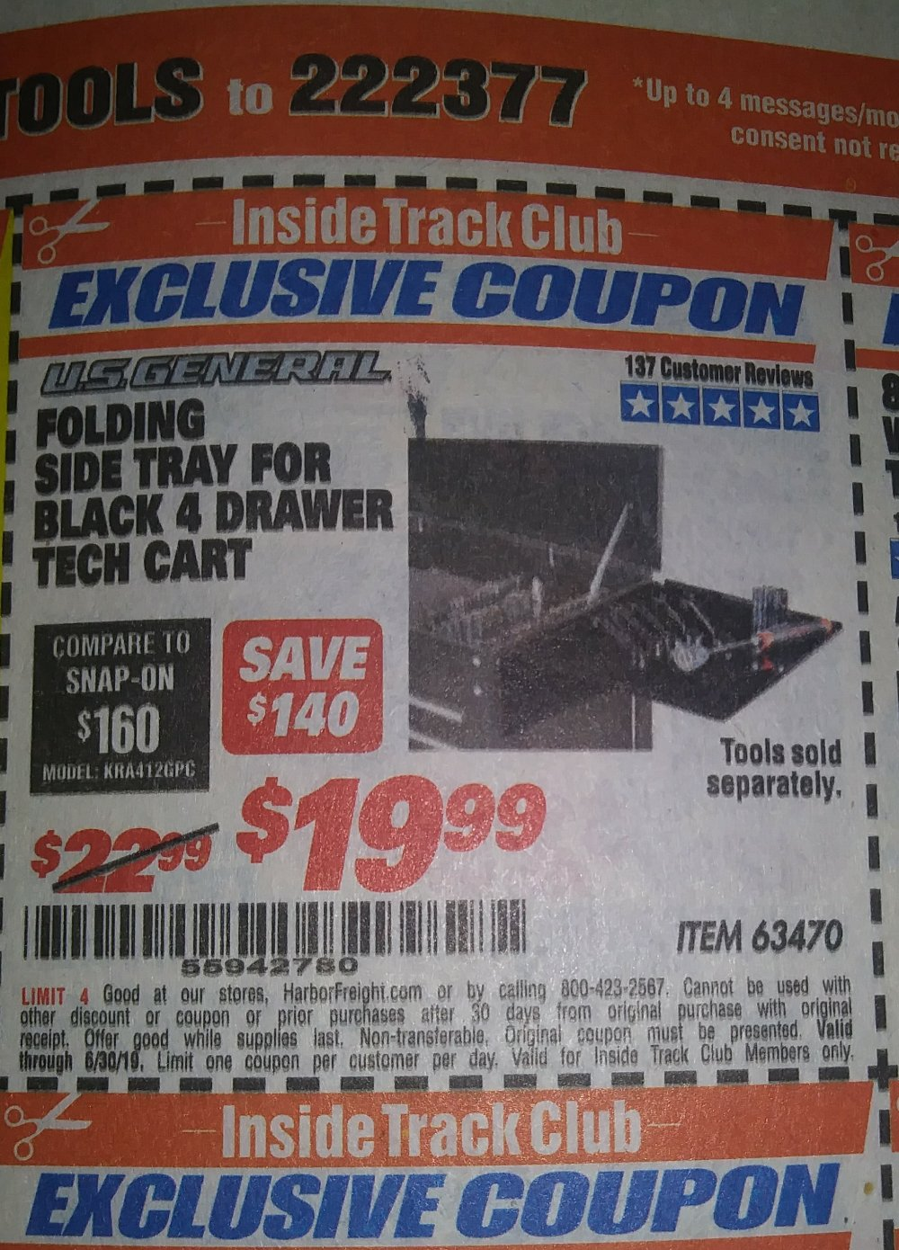 Harbor Freight Coupon, HF Coupons - 63470