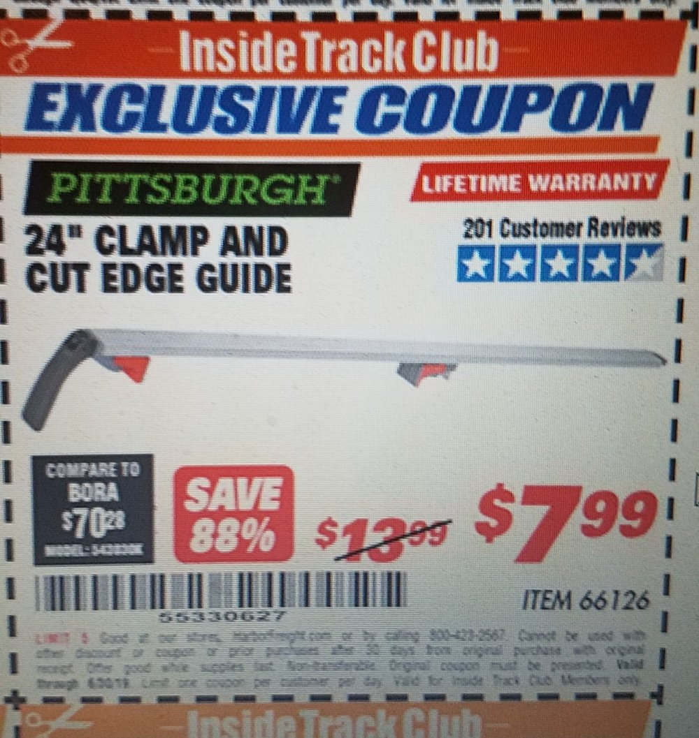 Harbor Freight Coupon, HF Coupons - 24