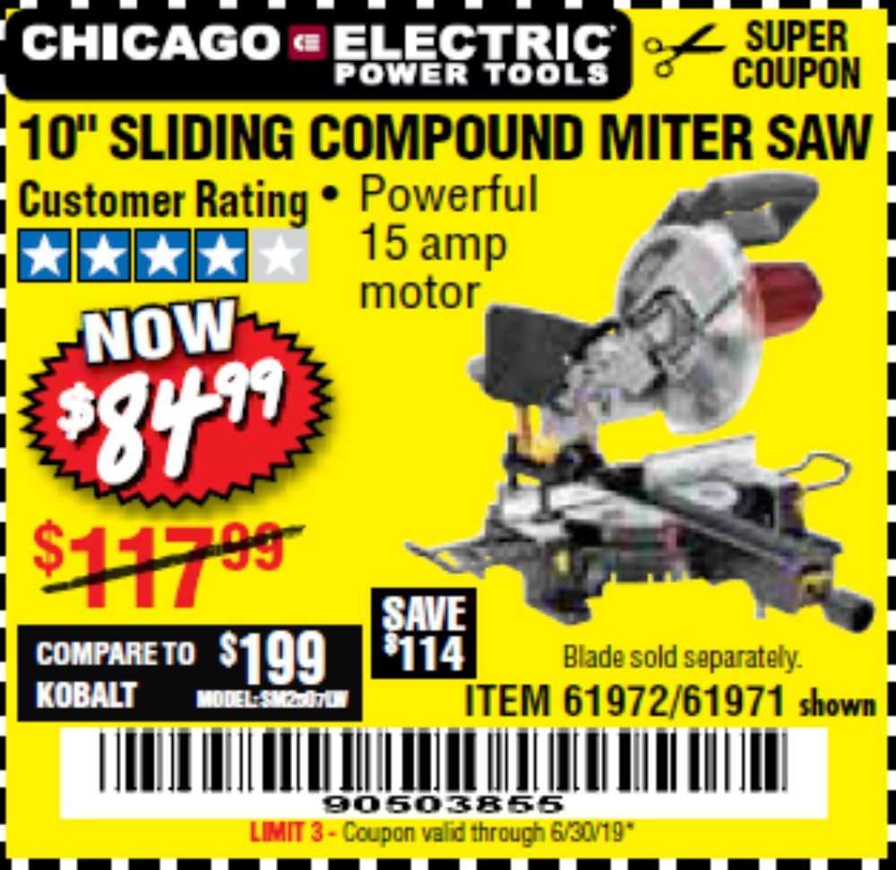 Harbor Freight Coupon, HF Coupons - 10