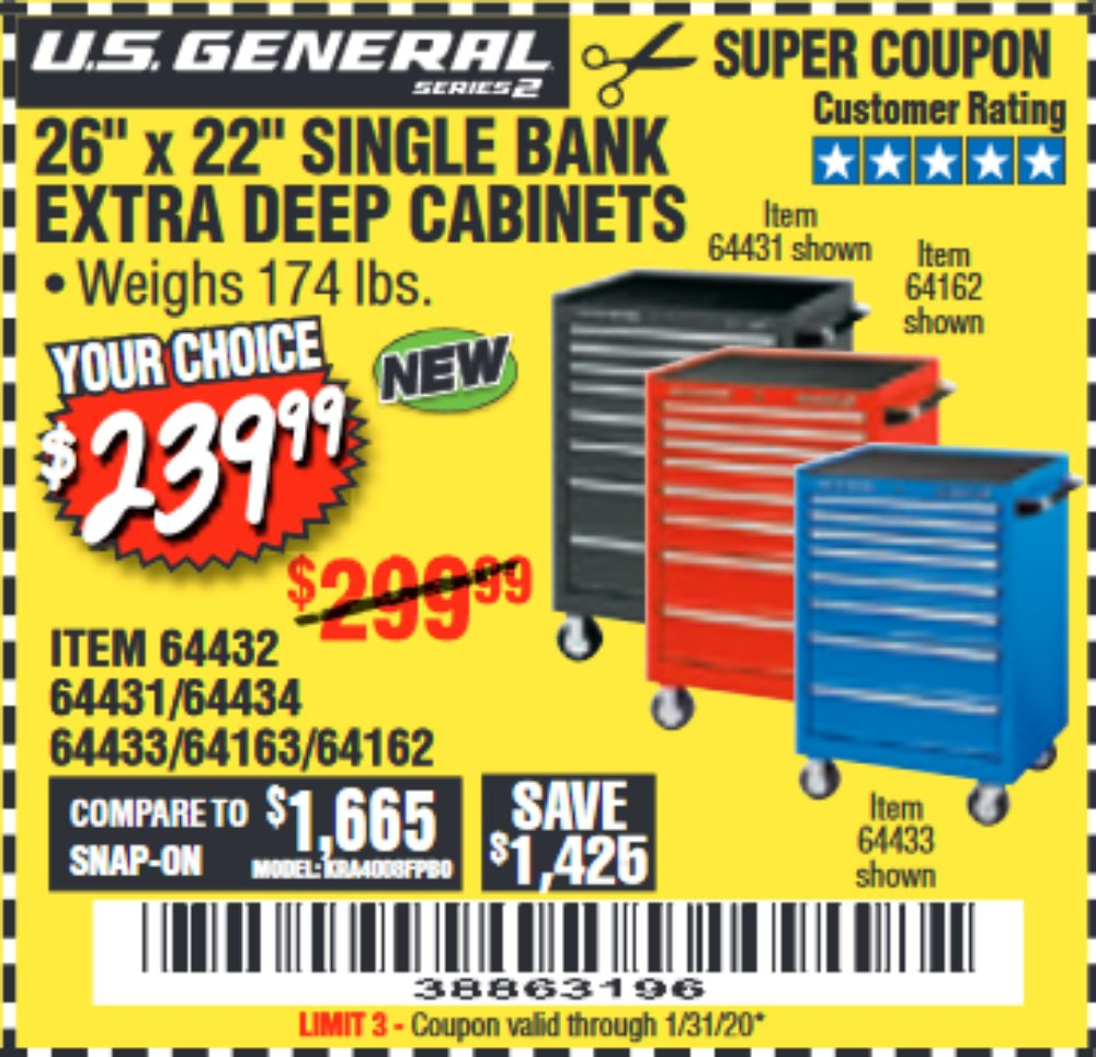 Harbor Freight Coupon, HF Coupons - us general