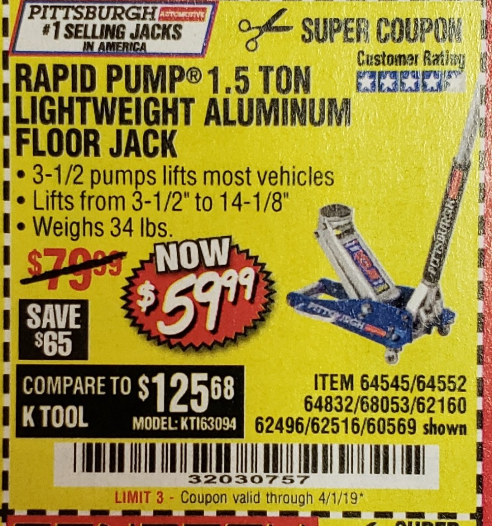 Harbor Freight Coupon, HF Coupons - 64545