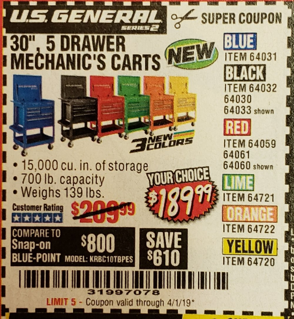 Harbor Freight Coupon, HF Coupons - 30