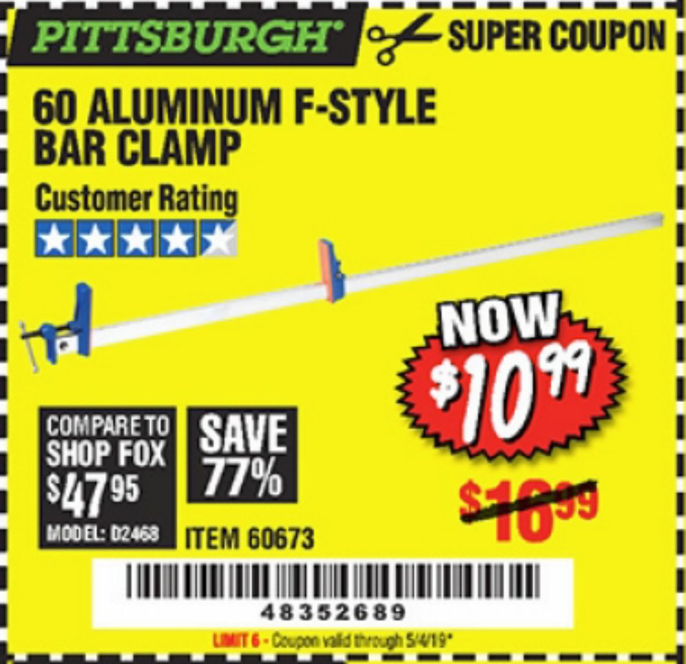 Harbor Freight Coupon, HF Coupons - 60