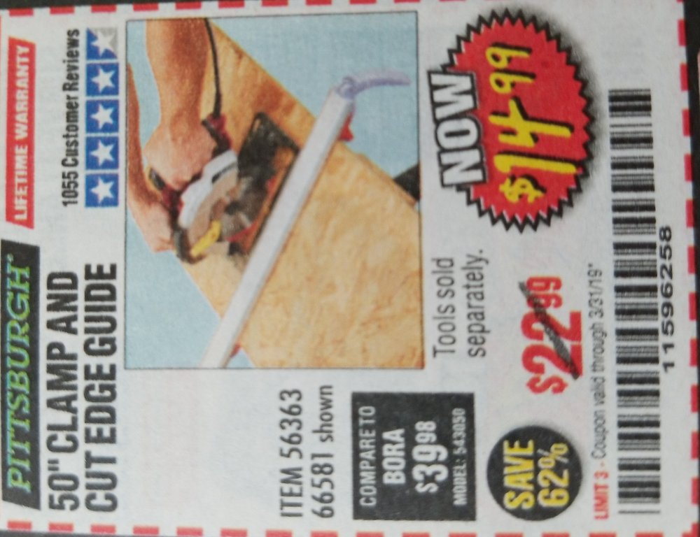 Harbor Freight Coupon, HF Coupons - 56363