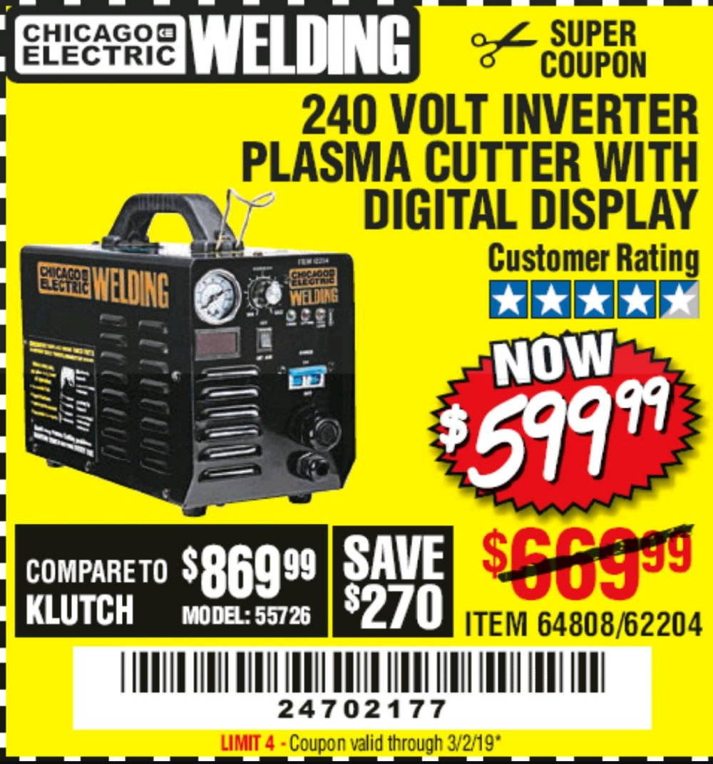 Harbor Freight Coupon, HF Coupons - 64808