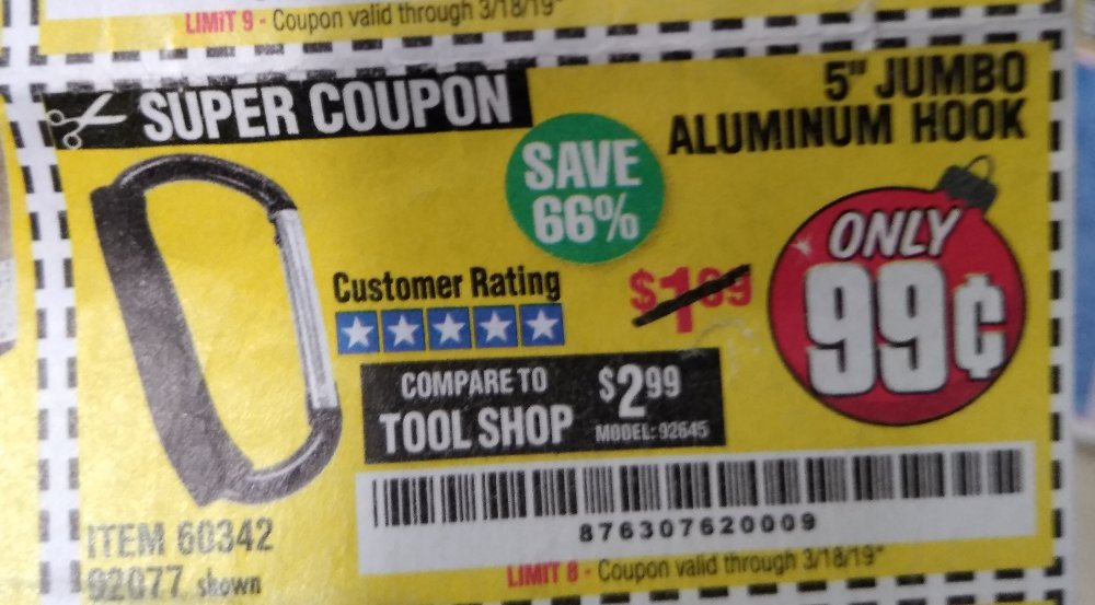 Harbor Freight Coupon, HF Coupons - 5