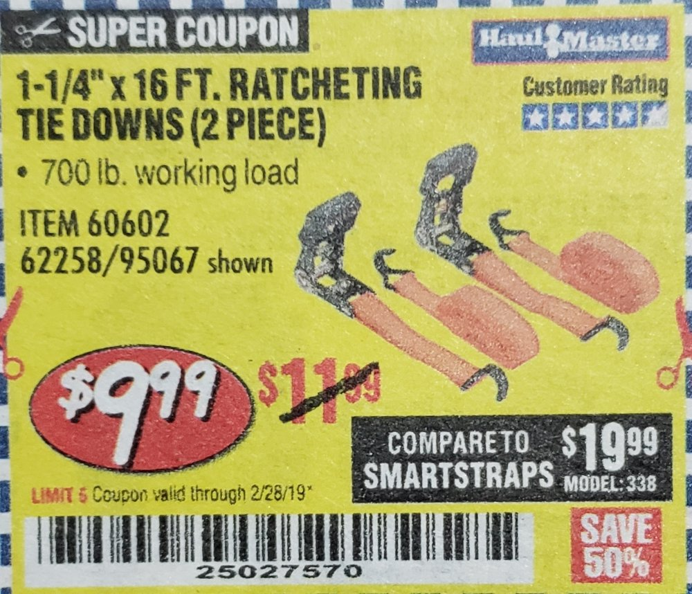Harbor Freight Coupon, HF Coupons - 1-1/4