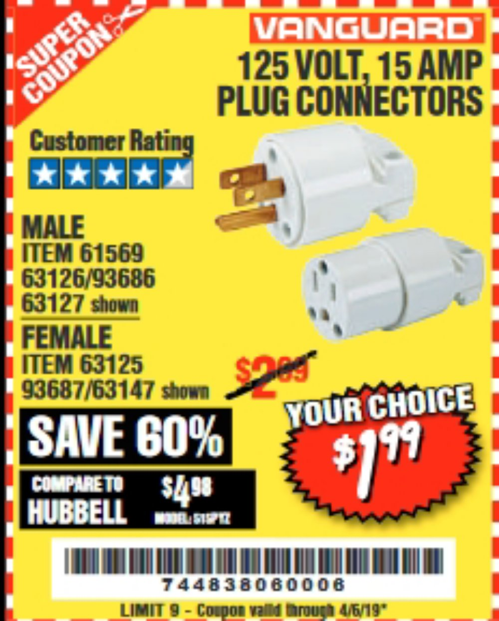 Harbor Freight Coupon, HF Coupons - 61569