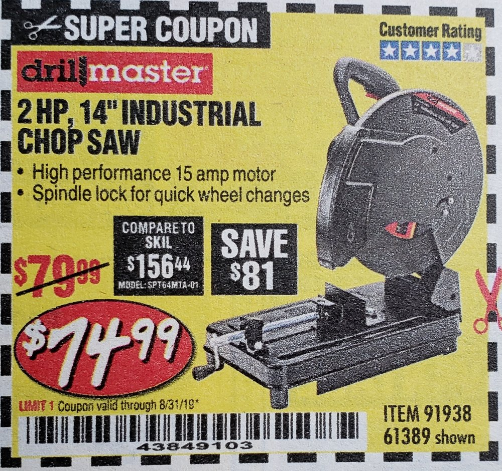 Harbor Freight Coupons - HF Coupons, HFT Coupons, Free coupons, 25