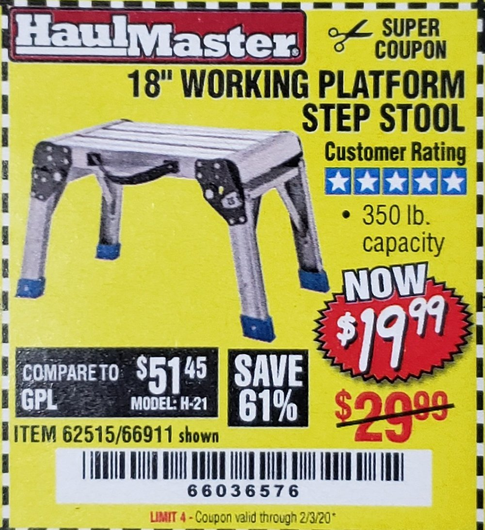 Harbor Freight Coupon, HF Coupons - 18
