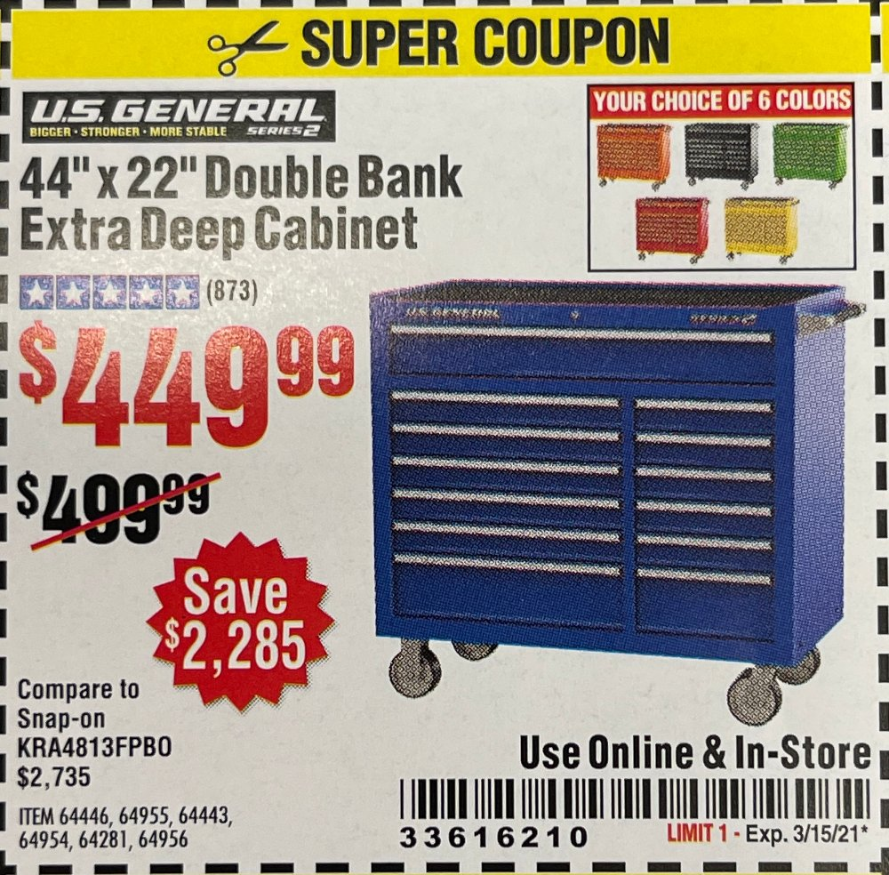 Harbor Freight Coupon, HF Coupons - 44