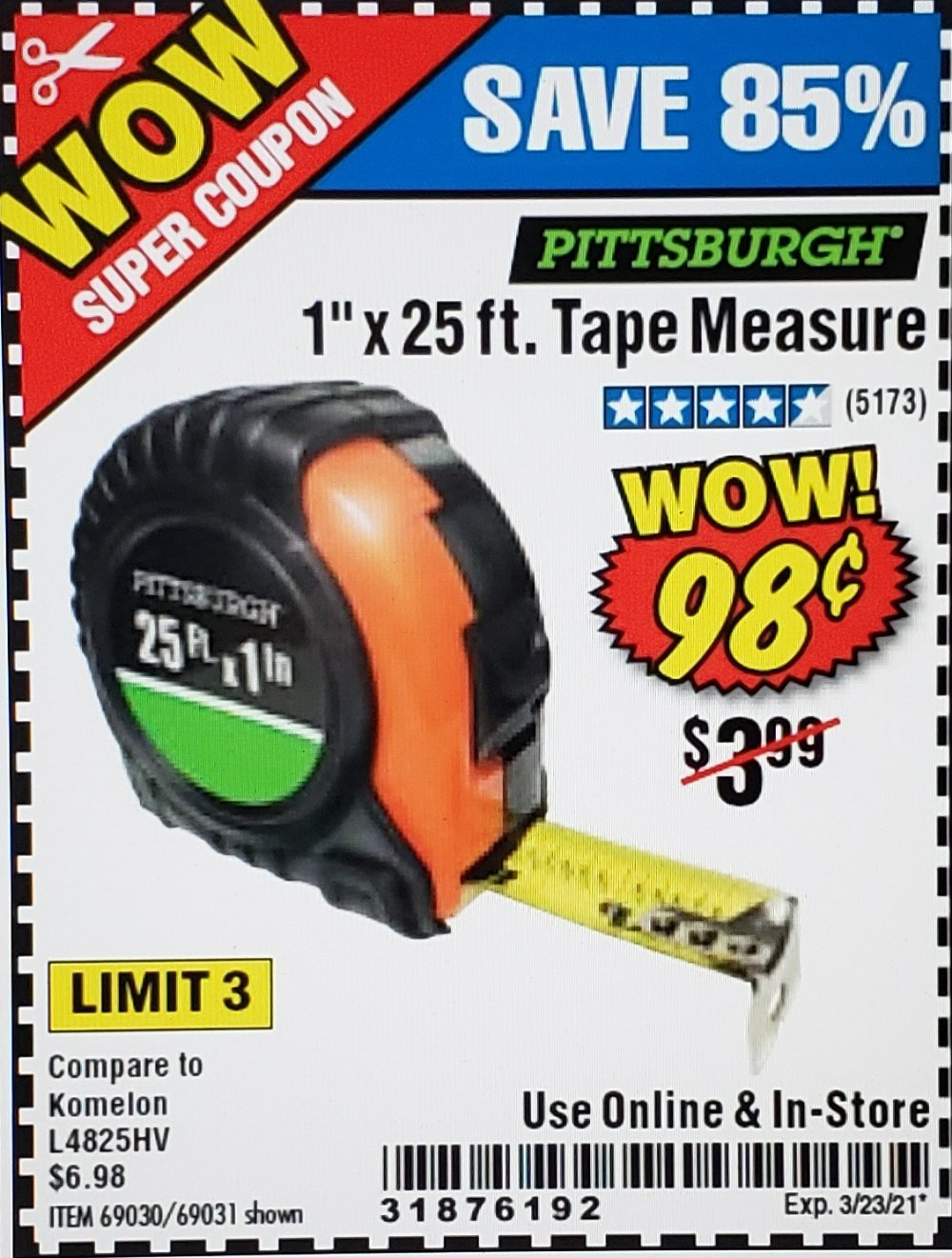 Harbor Freight Coupon, HF Coupons - 1
