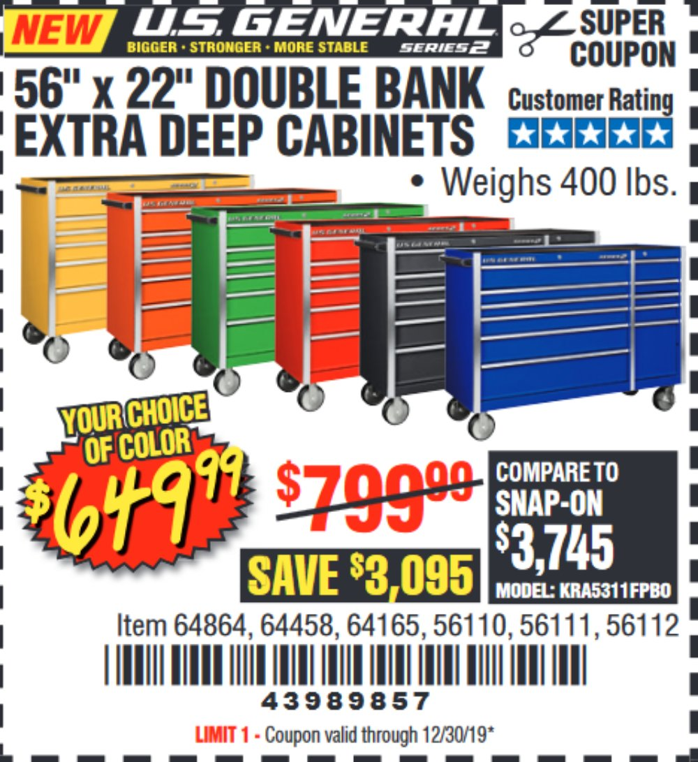 Harbor Freight Coupon, HF Coupons - us general 56