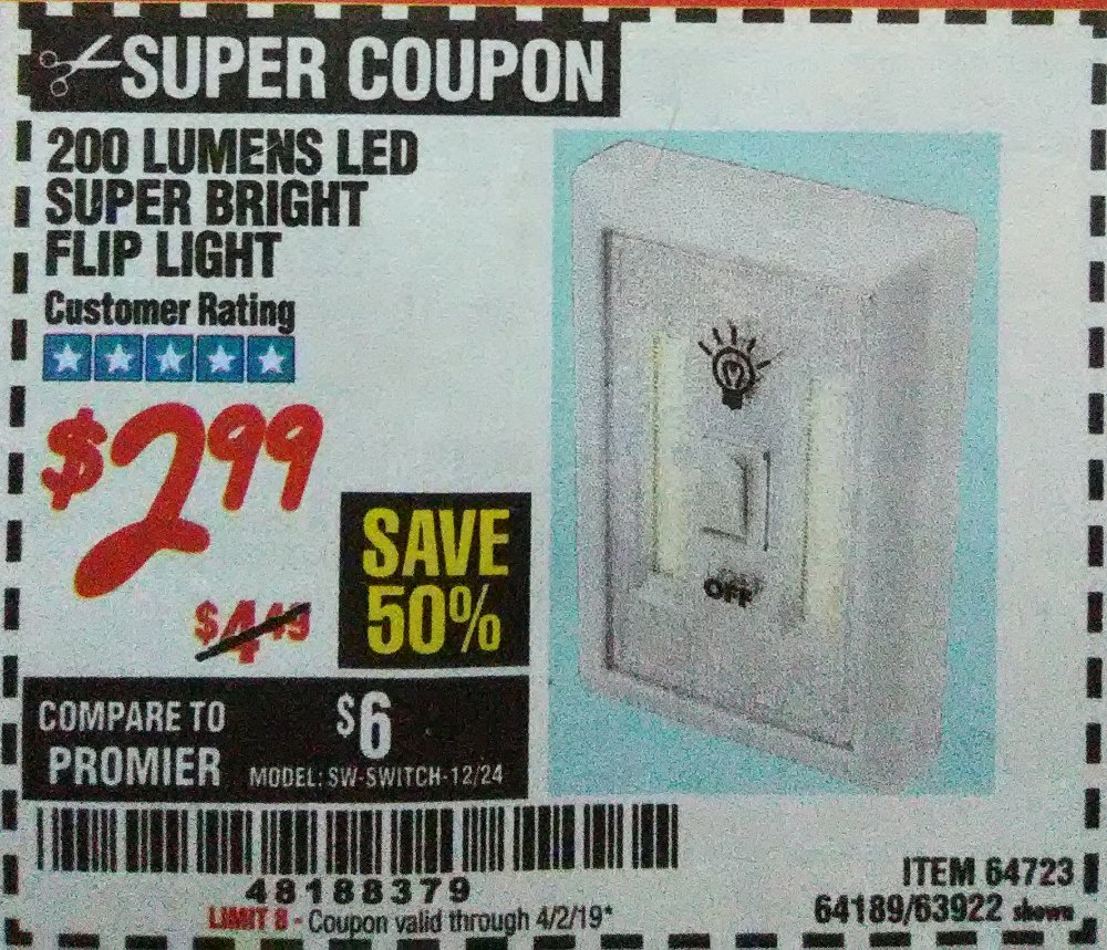 Harbor Freight Coupon, HF Coupons - 64723