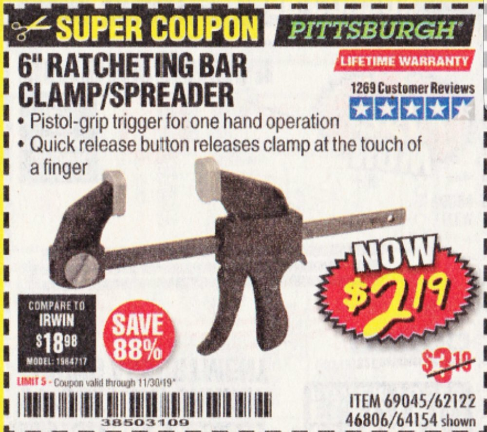 Harbor Freight Coupon, HF Coupons - Pittsburgh 6