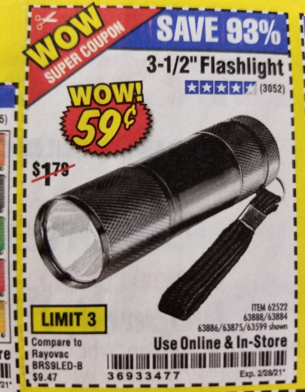 Harbor Freight Coupon, HF Coupons - 3-1/2