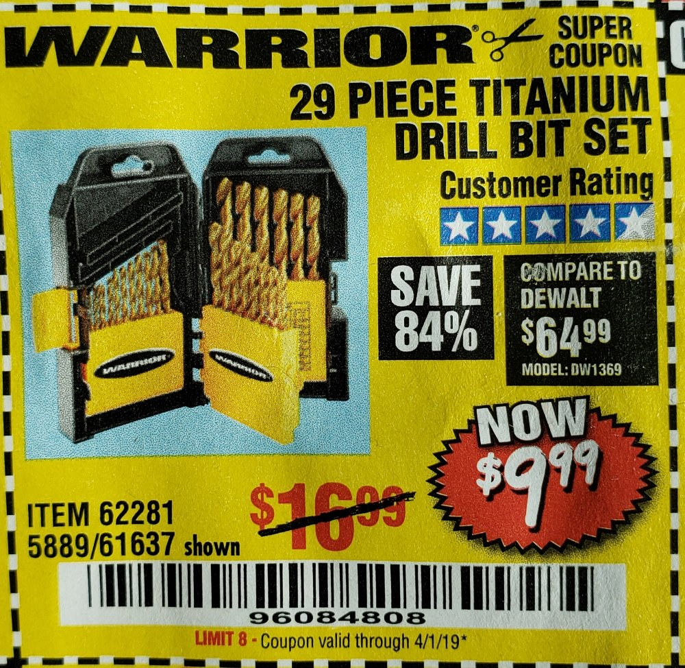 Harbor Freight Coupon, HF Coupons - 62281