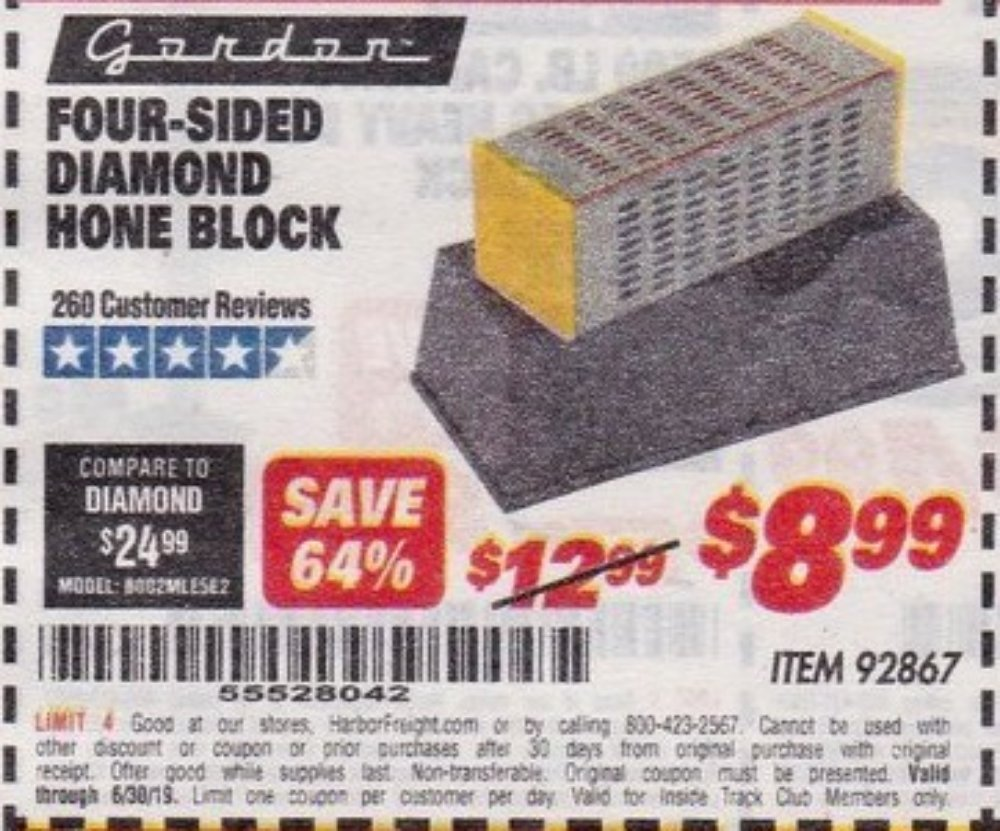 Harbor Freight Coupon, HF Coupons - 92868