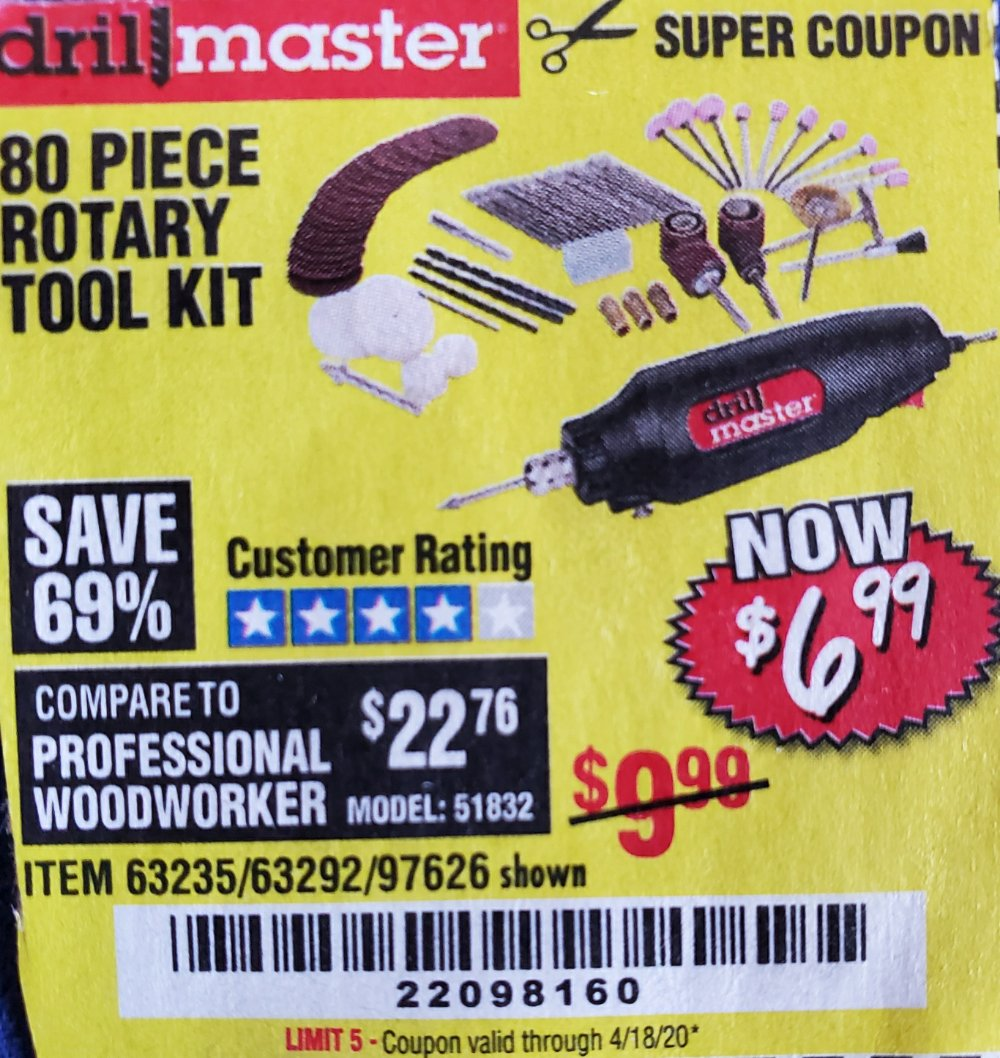 Harbor Freight Coupon, HF Coupons - Drill Master Tool