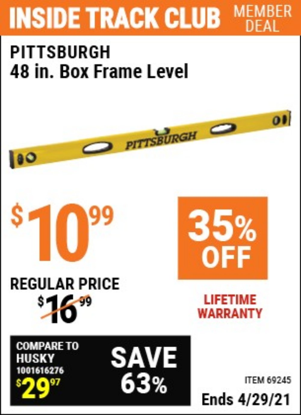 Harbor Freight Coupon, HF Coupons - 48