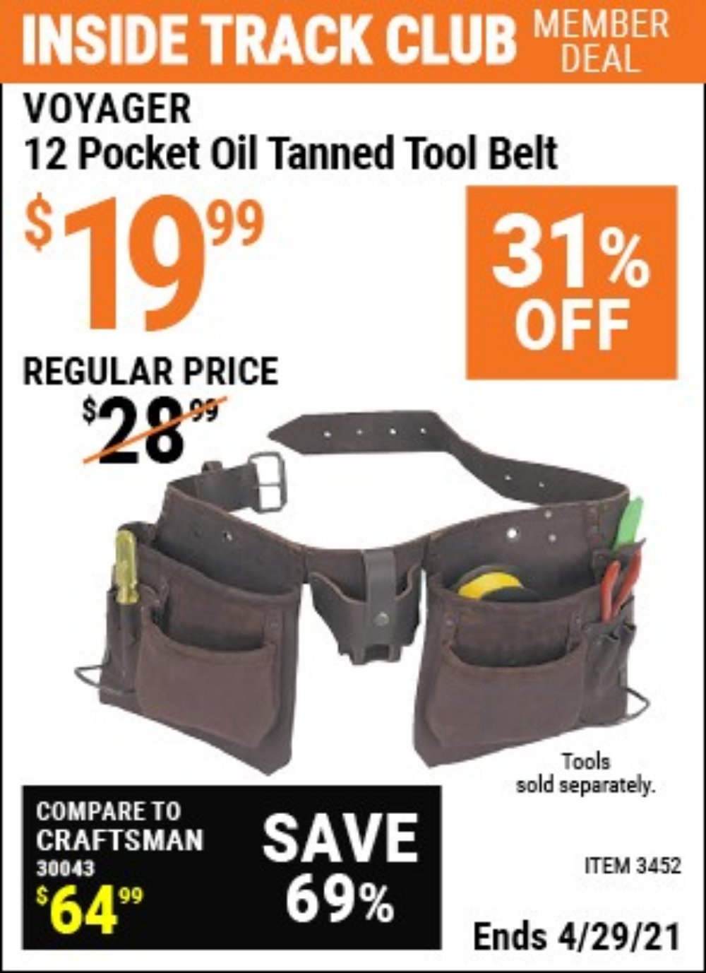 Harbor Freight Coupon, HF Coupons - 03452