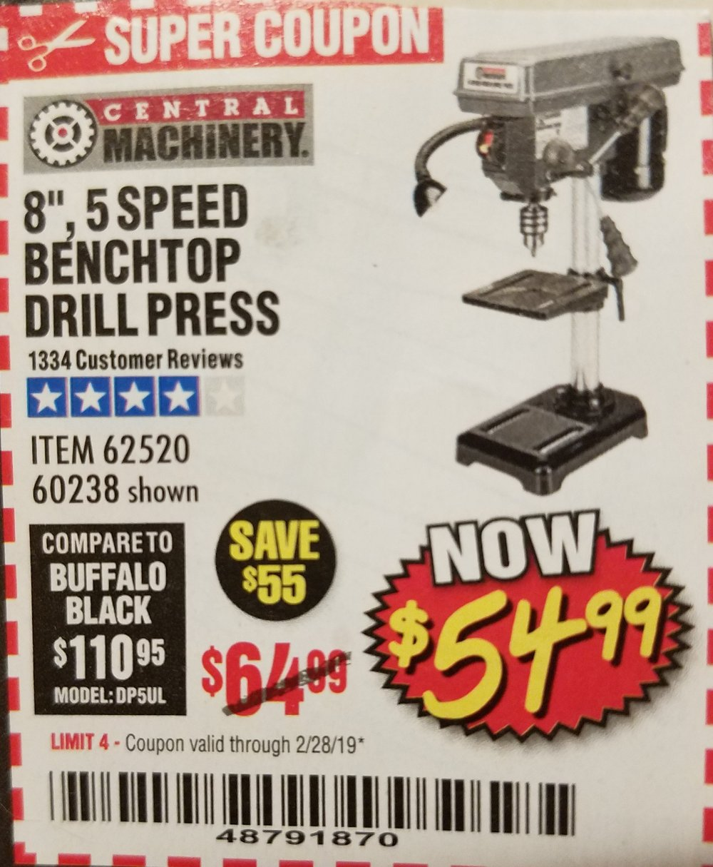 Harbor Freight Coupon, HF Coupons - 8