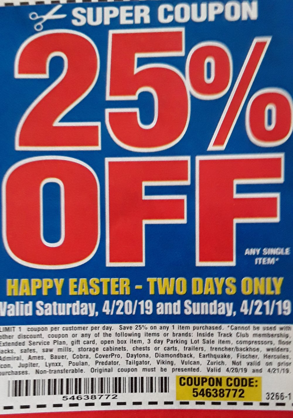 Harbor Freight Coupons Hf Coupons Hft Coupons Free Coupons 25