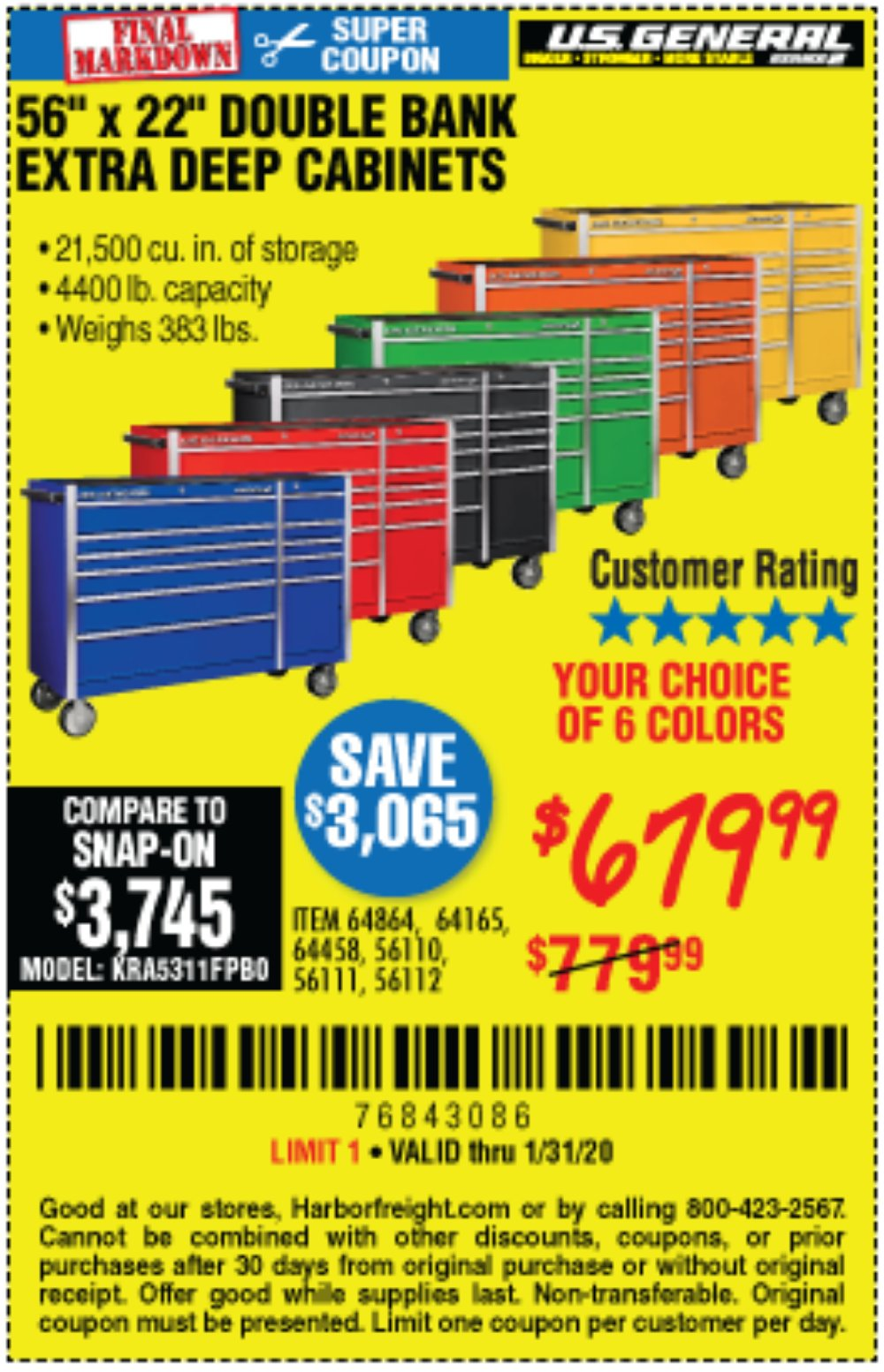 Harbor Freight Coupon, HF Coupons - 56