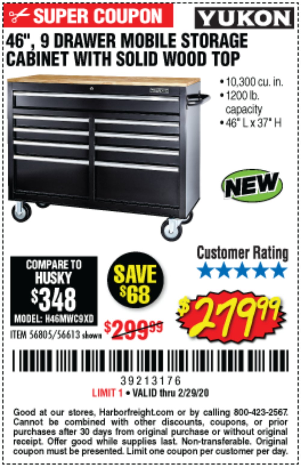 Harbor Freight Coupon, HF Coupons - 56613