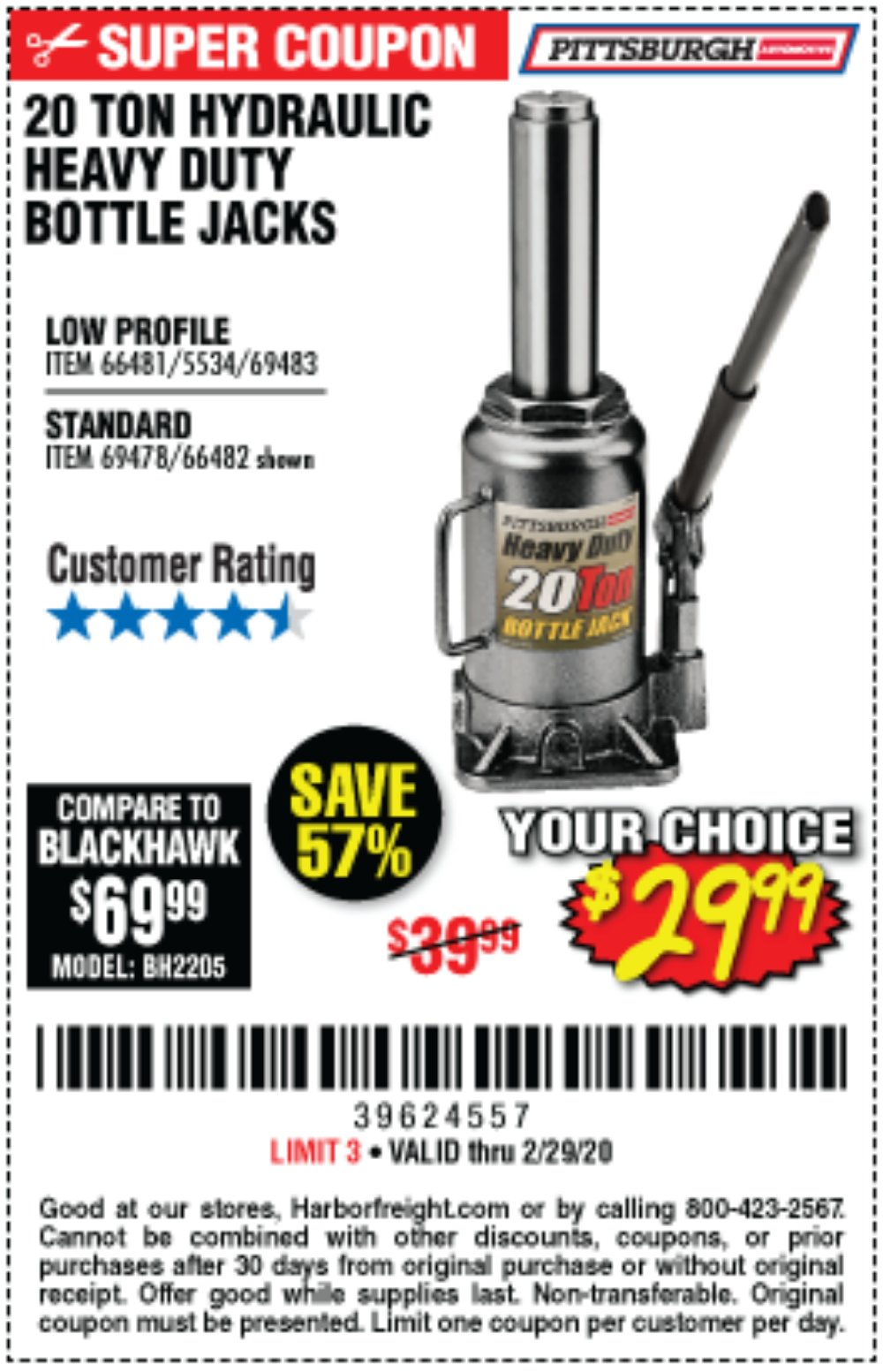 Harbor Freight Coupon, HF Coupons - 66481