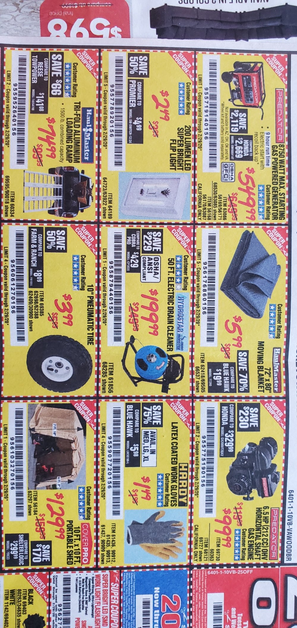 Harbor Freight Coupon, HF Coupons - after Christmas