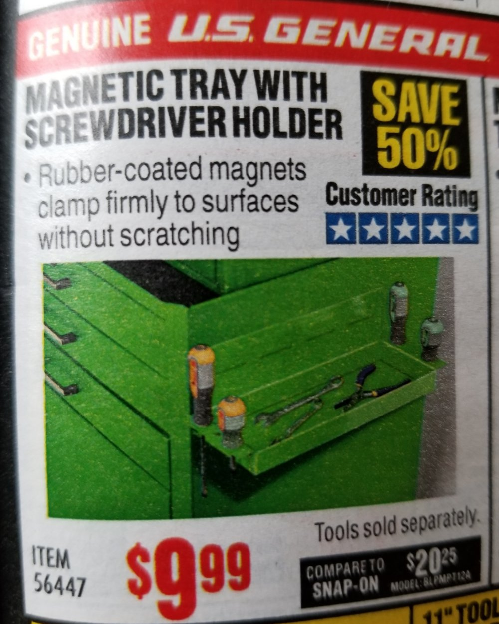 Harbor Freight Coupon, HF Coupons - Magnetic Trays With Screwdriver Holder