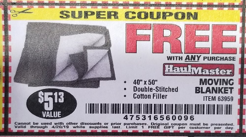 Harbor Freight Coupon, HF Coupons - FREE - 40